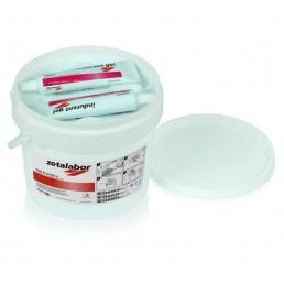 ЗетаЛабор Набор (1*5 кг+ 2*60 мл) Лабораторный С-Силикон +2 катализатора Indurent gel, Zhermack