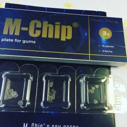 М-чип Наноматрица (15шт/уп) для лечения пародонта, периимплантитов, мукозитов Double White (M-Chip)