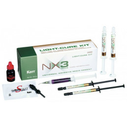 Нексус NX3 светоотверждаемый набор (2шпр*1.8гр цемента+2шпр*3гр пробного геля) KERR (Nexus)