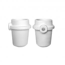 Тигель керамич.типа ДЕГУССА (1 шт) Для индукционных литейных установок, ВладМиВа