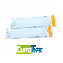 Пакеты для стерилизации ЕВРОТАЙП  90мм/165мм (уп 200шт)  самозапечатывающиеся (бумага/пленка)