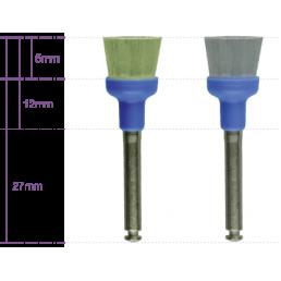 Щетка для полировки Hawe Miniature (полая широкая, RA) Нейлоновая для углового наконечника(100 шт/уп) KERR