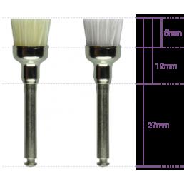Щетка для полировки Pro-Brush (полая широкая, RA) Нейлоновая для углового наконечника(100 шт/уп) KERR