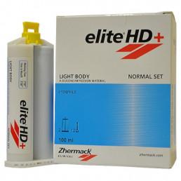 Элит HD+ Лайт боди Нормал (2*50 мл + 12 mix) Гидросовместимая стоматологическая силиконовая слепочная масса класса А, Zhermack