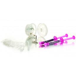 Opalustre KIT (4 шпр*1,2 мл + нас 20*2) гель для удаления пятен с эмали,лечение флюороза (Опалюстр)Ultradent