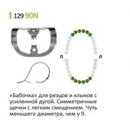 Кламп для раббер дам (№90N) Medenta  (для Моляров)