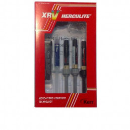 Геркулайт XRV Мини набор (3 шпр*3 г эмаль А2, С3; дентин D3) микрогибридный композит, KERR (Mini Kit)