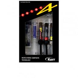Поинт 4 (Point) мини-Набор (3 шпр*3 г + OptiBond Solo Plus 3 мл +травильный гель 3 г) KERR (Mini Kit)