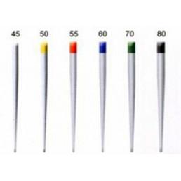 Штифты бумажные Dispodent .02 ассорти №45-80 (200шт)