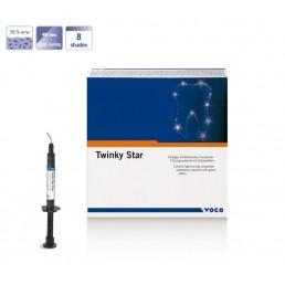 Твинки Стар Флоу Синий (1шпр*2гр) Цветной жидкотекучий пломбир. материал для детей VOCO (Twinky Star Flow)