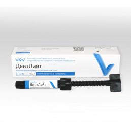 ДентЛайт ЕА1 (1шпр 4,5гр) микрогибридная композитная паста, Владмива