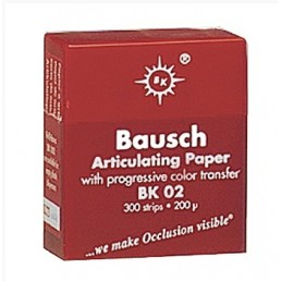Копирка бумага BAUSH 200мик. BK02 прямая красная (300листов)
