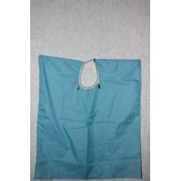 Фартук нейлоновый (69х76) Голубой - для индивид. защиты  Crosstex