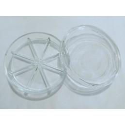 Чашка петри стекло (8 делений)