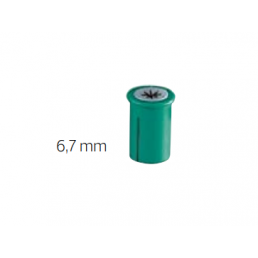 2025 Доп. катушки к Матрицам (6.7 мм, 500 шт зеленые) KERR