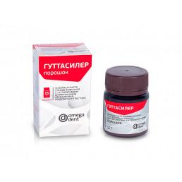Гуттасилер Порошок (15 г) Цинкоксид эвгеноловая паста для пломбирования каналов (порошок), Омега
