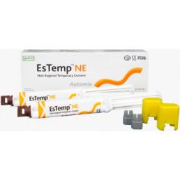 ЭсТемп NE (10г х 2шприца, полипанель) Цемент для временной фиксации, без эвгенола, Spident