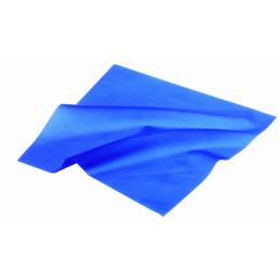 Листы для раббер дам BENOVY с шаблоном (Синие-средние, 152мм*152мм) 36шт (Sanctuary)