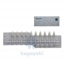 Кагаяки полир силиконовый КОНУС (1шт), Япония