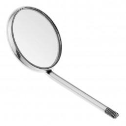 23-3 Зеркало стоматологическое, увеличивающее, №4, 22 мм, 12 штук в упаковке