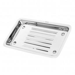 15-22B Лоток для хранения и стерилизации инструментов, 205х115 мм, рифленный