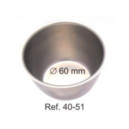 40-51 Лоток для хранения и стерилизации инструментов, ø 60 мм