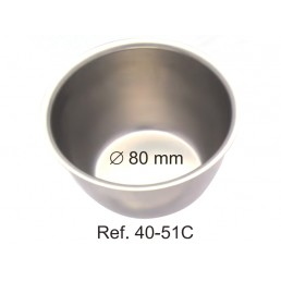 40-51C Лоток для хранения и стерилизации инструментов, ø 80 мм