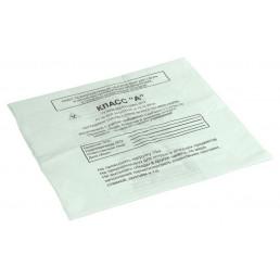 Пакет для медотходов класс А(Белый) 30л (500*600 мм) 15мкн (уп 100шт +стяжки) МедКом