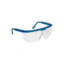 Очки защитные (прозрачные, оправа черная или синяя)