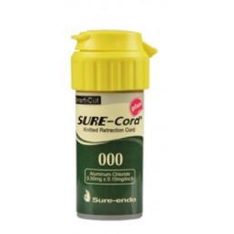 Sure-Cord, нить с пропиткой, алюминий хлорид, №000 (1шт) SURE-ENDO (СуреКорд)