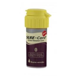 Sure-Cord, нить с пропиткой, алюминий хлорид, №0 (1шт) SURE-ENDO (СуреКорд)