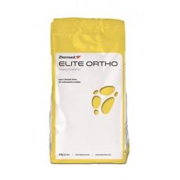 Гипс (3 класс) Элит Орто (для моделей в ортодонтии), белый с эффектом блеска, 3кг Zhermack