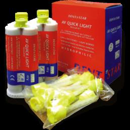AV Quick Light (2х50мл) А силиконовый слеп. мат. Дентстар