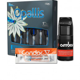 Опаллис Набор (5шпр.*4гр+ 1шпр. *2гр +Амбар 6мл +Кондак 3шпр.), композит наногибридный, FGM (Opallis)