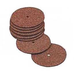 Круги прорезные стоматологические на вулканитовой связке (D круга 40,0 мм, толщина 1,5 мм, D отв. 2,0 мм, 30 шт) ВладМиВа