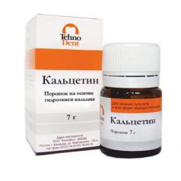 Кальцетин порошок (7гр) на основе гидроокиси кальция Технодент