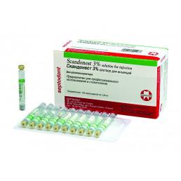 Скандонест 3% (50карп) - карпульная анестезия Septodont