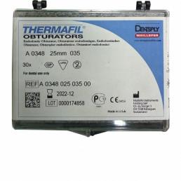 Термафил 25 мм №20 (30 шт/уп) Обтураторы гуттаперчевые, Dentsply (Termafil)