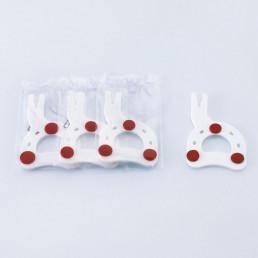 Артекс Квикбайт (10шт) Одноразовые вилки для лицевой дуги, Amann Girrbach (Artex Quickbite)