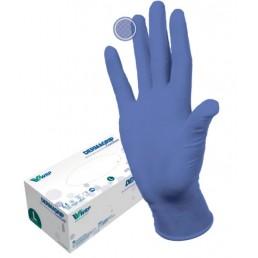 Перчатки нитрил, 200шт,  Сиреневые DERMAGRIP Ultra LS, S(6-7) Дермагрип
