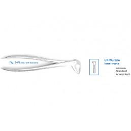 12-74N Щипцы для удаления зубов нижние, корневые