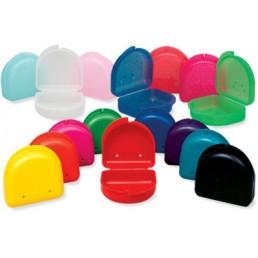 Контейнер для хранения (средний, цвет ассорти) съемных протезов и индивидуальных капп
