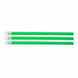 Слюноотсосы со съемным колпачком, Ярко-зеленые (100шт) 150мм, ASA Dental (Blossom)