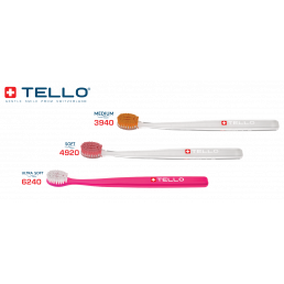 Зубная щетка Brush ultra soft 6240 Adults (3 шт) Tello (Trio)