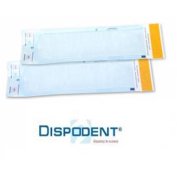 Пакеты для стерилизации Dispodent 180мм/335мм (уп 200шт)  самозапечатывающиеся (бумага/пленка)