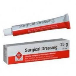 Сурджикал Дрессинг25г (Surgical dressing) - Альвеолярная обезболивающая и антисептическая повязка PD