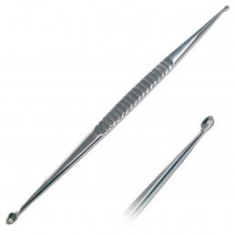 Ложка Кюретажная прямая №2 средняя (ширина: 5,4мм и 4мм) 1шт Струм