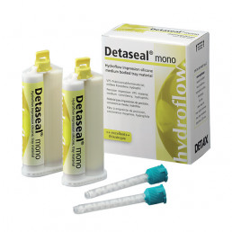 Детасил Гидрофлоу Мono (2х50мл) корр. материал А-силикон, DETAX (Detaseal Hydroflow)