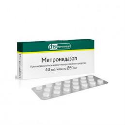 Метронидазол таблетки (250 мг) (40 шт) Фармстандарт-Лексредства