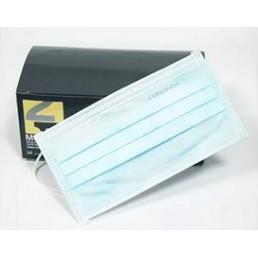Маски на резинках Голубые (50шт) Euronda 3-х сл